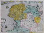 C. de Jode's map in old colour and fine condition