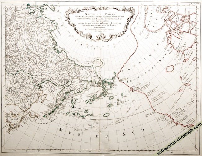 Russian Discoveries in North Pacific