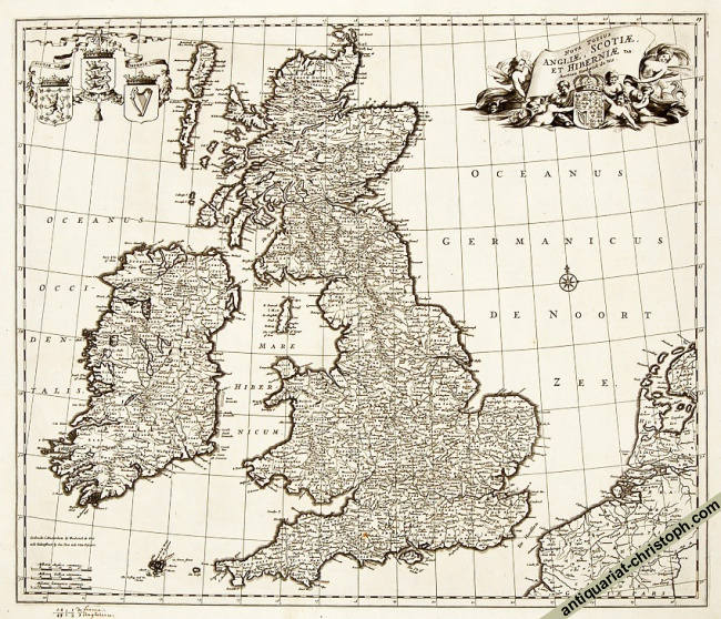 Earliest of the undated maps by de Wit