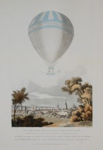 Sadler's balloon ascent on 7th July 1810
