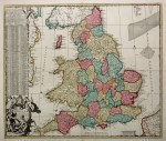 De Ram's striking map of England