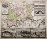 Map of Greater London with vignette views