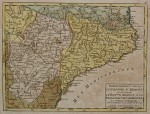 Medium sized 18th century map