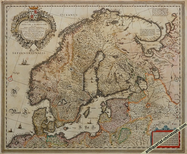 1st state of Claes Jansz Visscher's map